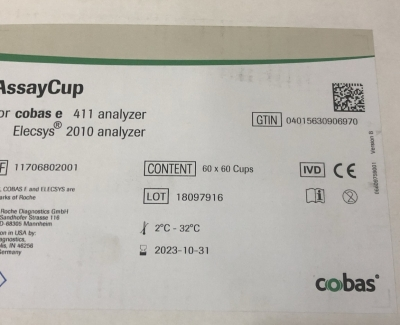 AssayCup Roche ( Hộp 60x 60 cup )